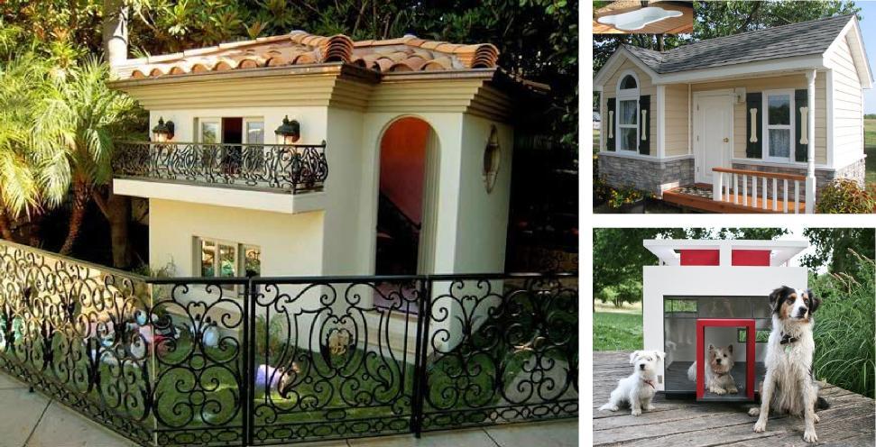 7 incríveis mansões para cachorro