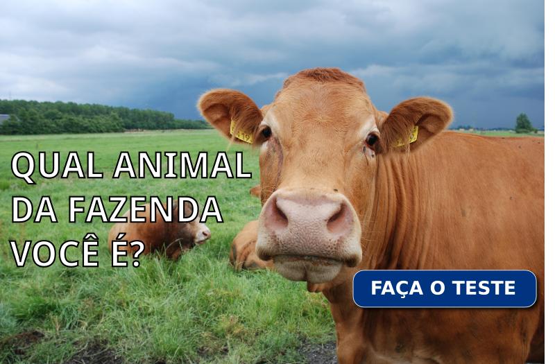 Qual animal da fazenda você é?