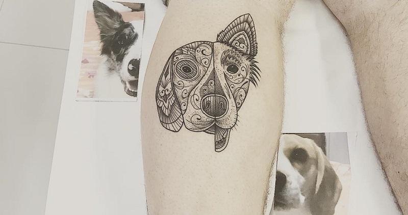 10 motivos para homenagear seu cachorro com uma tatuagem