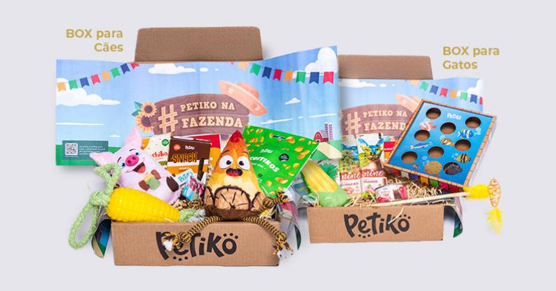 """BOX.Petiko: conheça os sabores e a diversão do tema """"Petiko na Fazenda"""""""